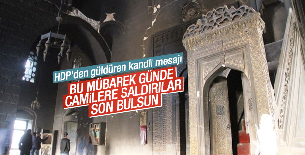 HDP Mevlid Kandili mesajı yayınladı