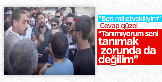Polisten HDP'li vekile: Tanımıyorum seni