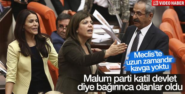 Meclis'te vekiller arasında Tahir Elçi tartışması