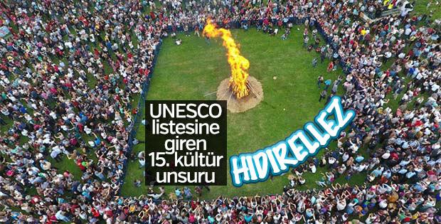 Hıdırellez de UNESCO listesinde