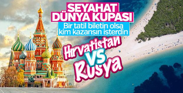 Seyahat Kupası: Hırvatistan vs Rusya