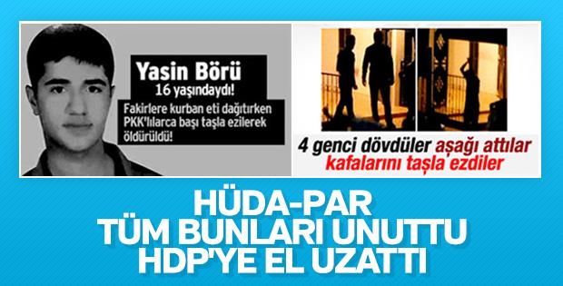 HÜDA-PAR ile HDP arasında yakınlaşma