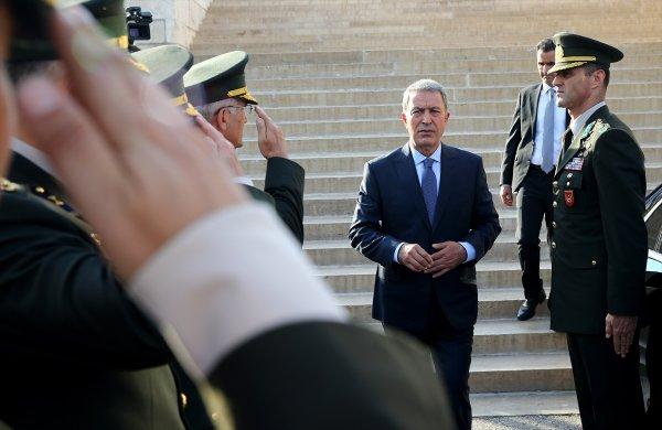 Yunanistan, Hulusi Akar'ın göreve gelmesinden rahatsız