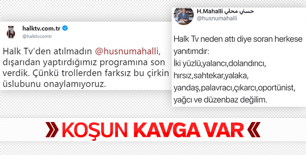 Halk TV, Hüsnü Mahalli'yi kovdu