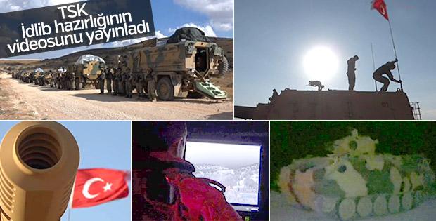 Genelkurmay İdlib görüntülerini paylaştı