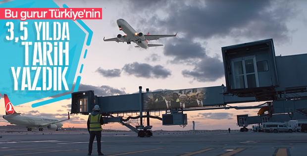 İstanbul Yeni Havalimanı'nın son reklam filmi