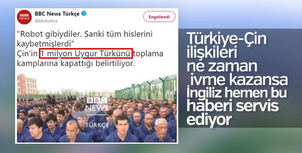 İngilizler, Türkiye-Çin ilişkilerinden rahatsız