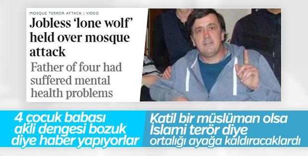 İngiliz medyası cami saldırganını koruyor