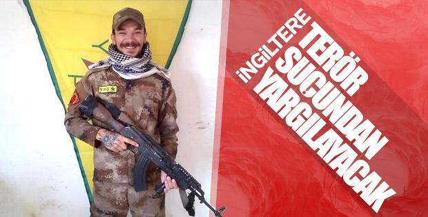 PKK'ya katılan İngiliz ülkesinde gözaltına alındı