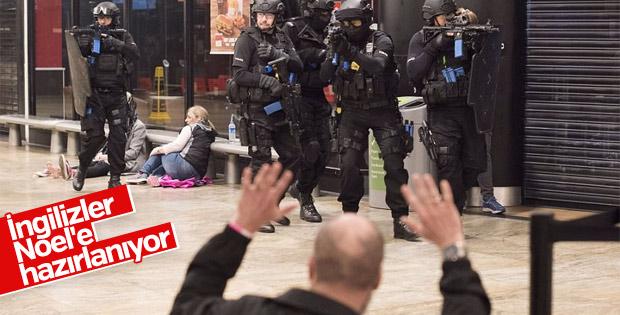 İngiltere'de terör tatbikatı