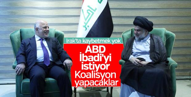 Irak'ta İbadi ve Mukteda Es-Sadr'dan koalisyon sinyali
