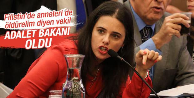Ayelet Shaked İsrail Adalet Bakanı oldu