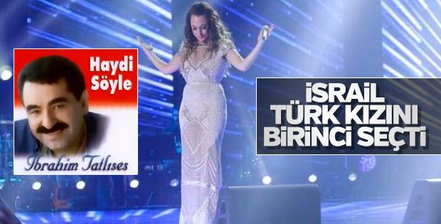 İsrail'in 'O Ses'i bir Türk