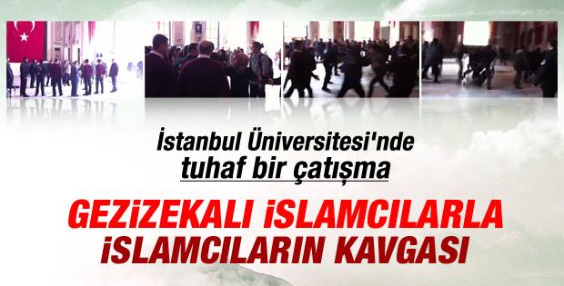 İstanbul Üniversitesi'nde gerginlik İZLE