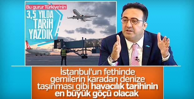 İlker Aycı, yeni havaalanına taşınma sürecini anlattı