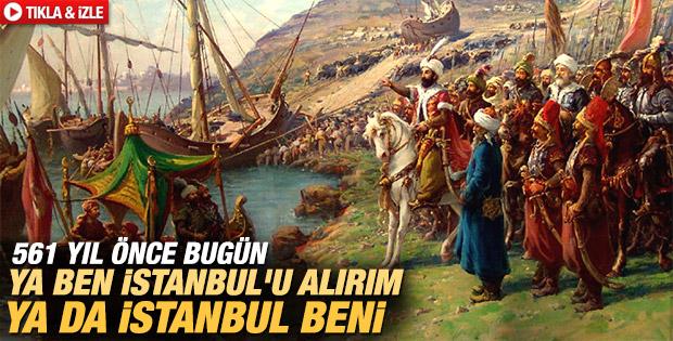 İstanbul'un Fethinin 561. yıl dönümü İZLE