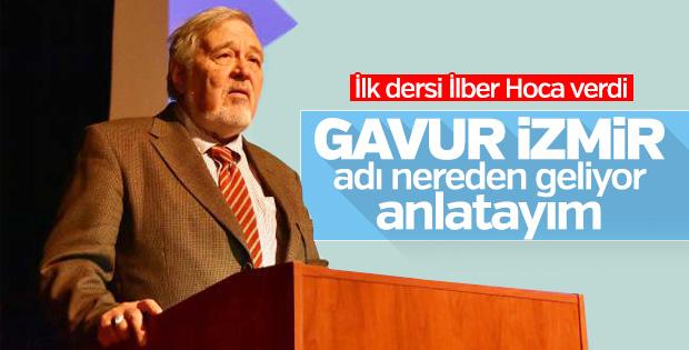 İlber Ortaylı İzmir'in tarihini anlattı