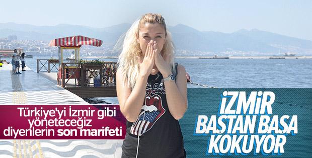 İzmir genelinde kötü koku hakim