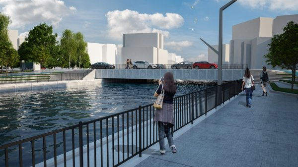 İBB tarafından yenilenen Kurbağalıdere Köprüsü trafiğe açıldı