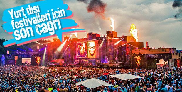 En popüler 3 yurt dışı festivali