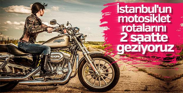 Motosikletle İstanbul'a yakın rotalar