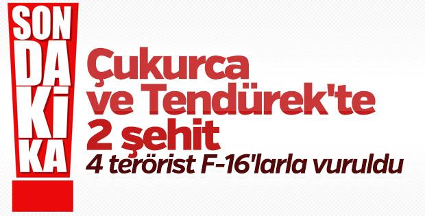 Kandil'de 4 terörist öldürüldü