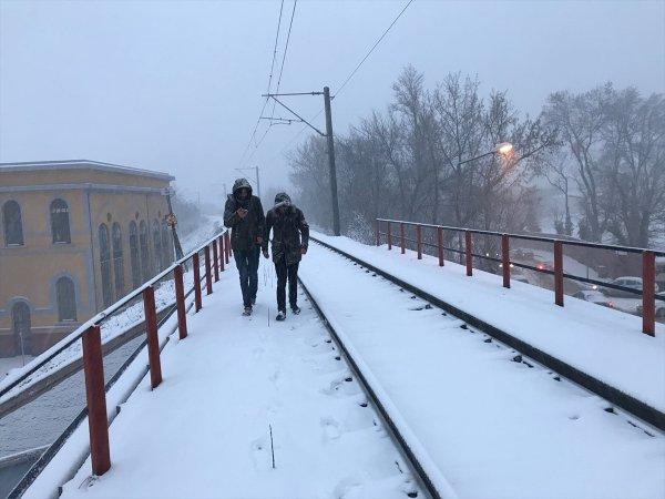 Balkanlar'dan gelen soğuk hava Trakya'yı etkiledi