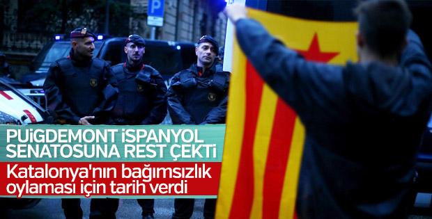 İspanya'da Katalonya bağımsızlığı için tarih verildi