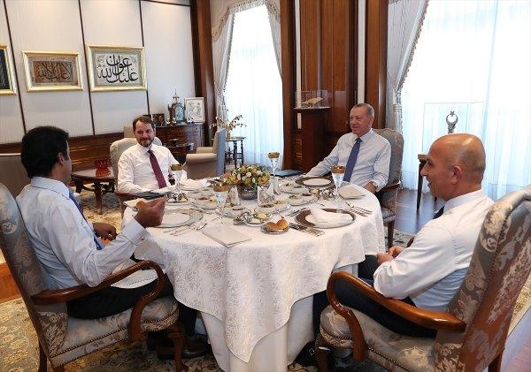 Erdoğan-Şeyh Tamim görüşmesi sona erdi