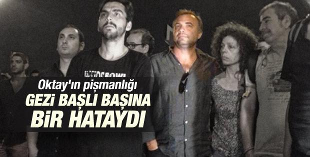 Oktay Kaynarca Gezi olaylarının hata olduğunu söyledi