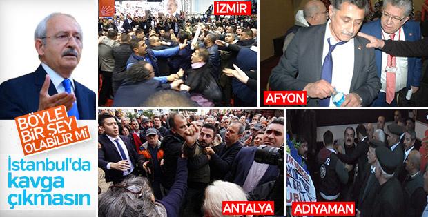 Kılıçdaroğlu kongrede kavga istemiyor