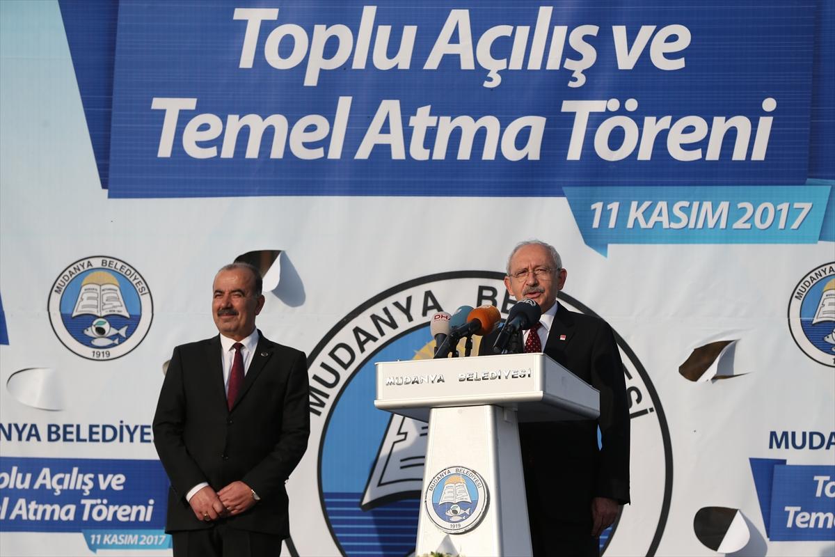 Kemal Kılıçdaroğlu temel attı