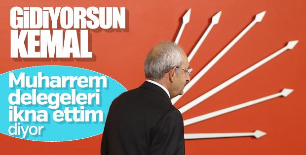 CHP'de liderlik yarışı kızıştı