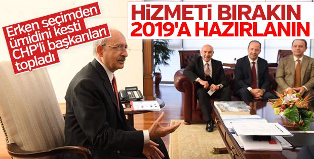 Kılıçdaroğlu'ndan belediye başkanlarına 2019 uyarısı