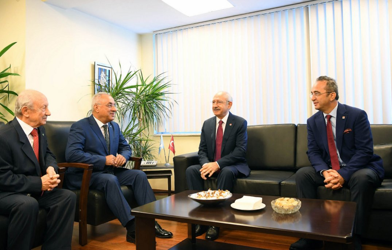 Kemal Kılıçdaroğlu'ndan DSP'ye ziyaret