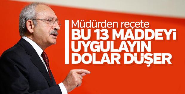 Kemal Kılıçdaroğlu ülke gündemini hatırladı