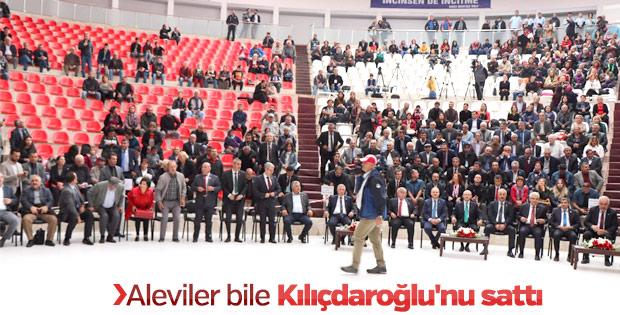 Kılıçdaroğlu'nun katıldığı anma töreninde salon boş kaldı