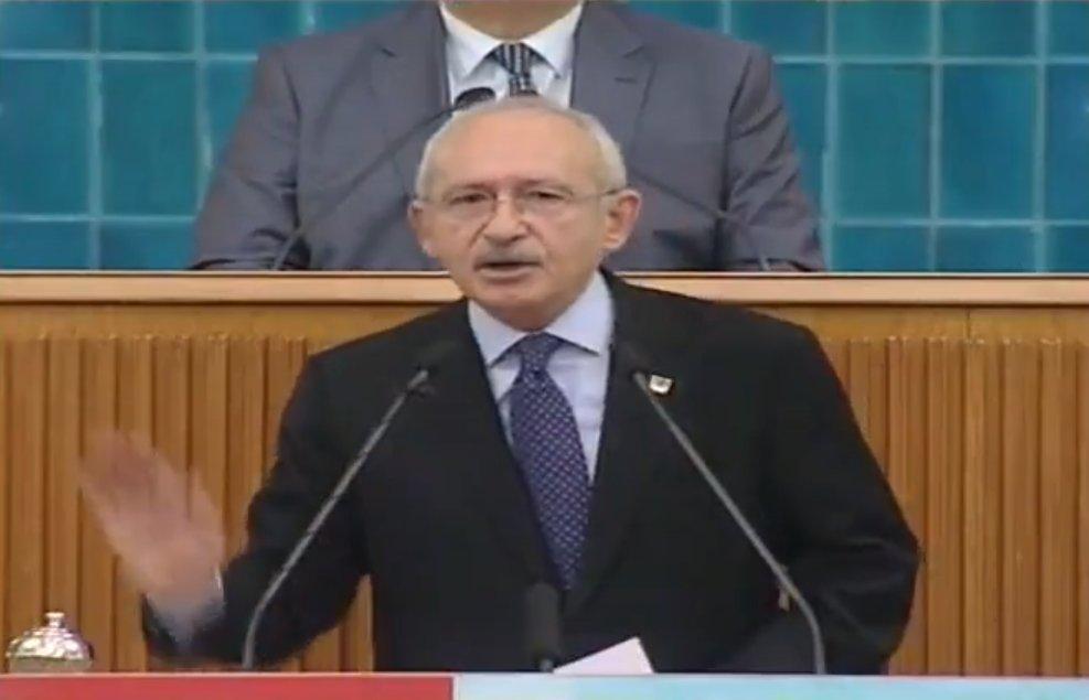 Kılıçdaroğlu elini masaya vurdu emeklilerden oy istedi
