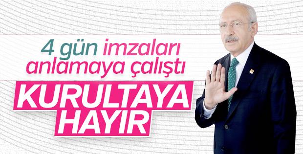 Kemal Kılıçdaroğlu kurultay imzalarını inceledi