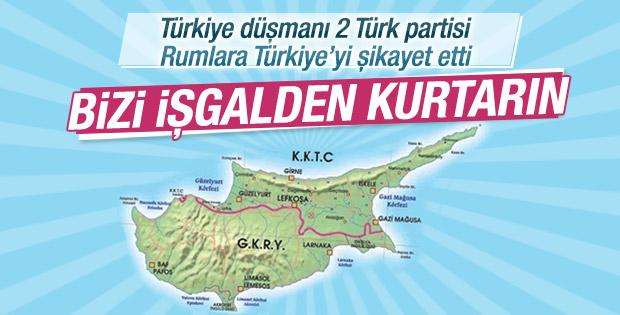KKTC'de iki Türk partisi AP'ye Türkiye'yi şikayet etti