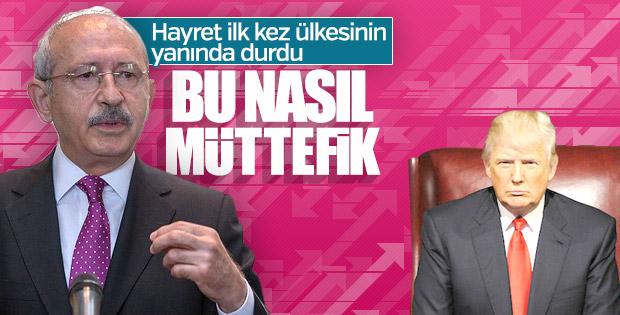 Kılıçdaroğlu: Trump'ın tehditleri müttefiklik hukukuna aykırı