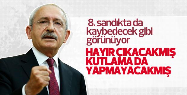 Kılıçdaroğlu: Hayır çıkacak kutlama yapmayacağız