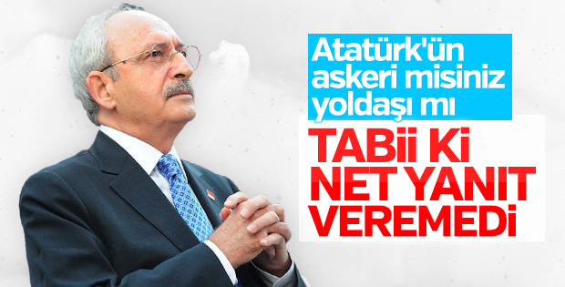 CHP'de kafalar karışık: Atatürk'ün askeri mi yoldaşı mı