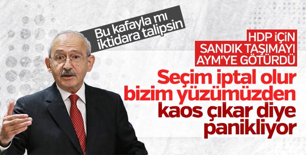Kılıçdaroğlu, seçimler iptal edilmesin istiyor