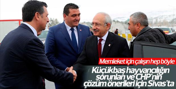 Kılıçdaroğlu Sivas'ta