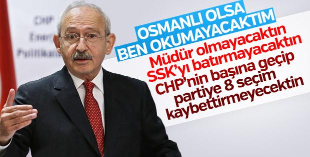 Kemal Kılıçdaroğlu okumasını cumhuriyete bağladı