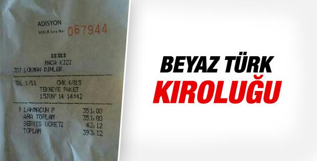 Bodrum'da yata paket servis: 9 lahmacun 393 lira