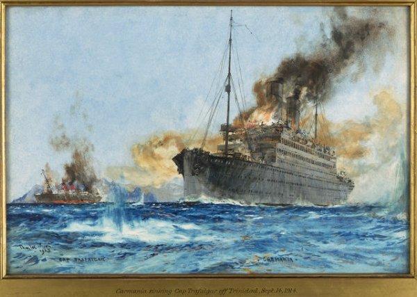 Alman'ın İngiliz?e oyunu: RMS Carmania