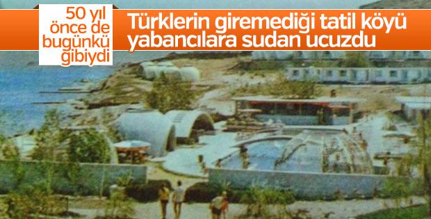 Türklere açık ilk tatil köyü İzmir'de açılmıştı