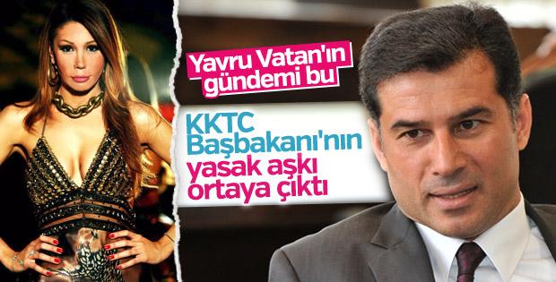 KKTC Başbakanı Hüseyin Özgürgün'ün sevgilisi hamile